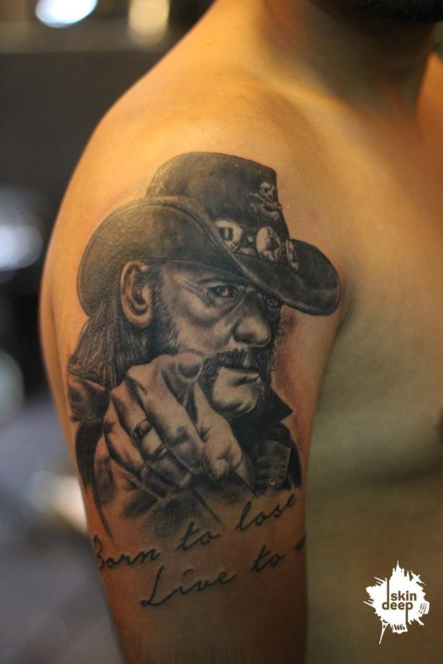 Grey Scale – Motorhead – Lemmy