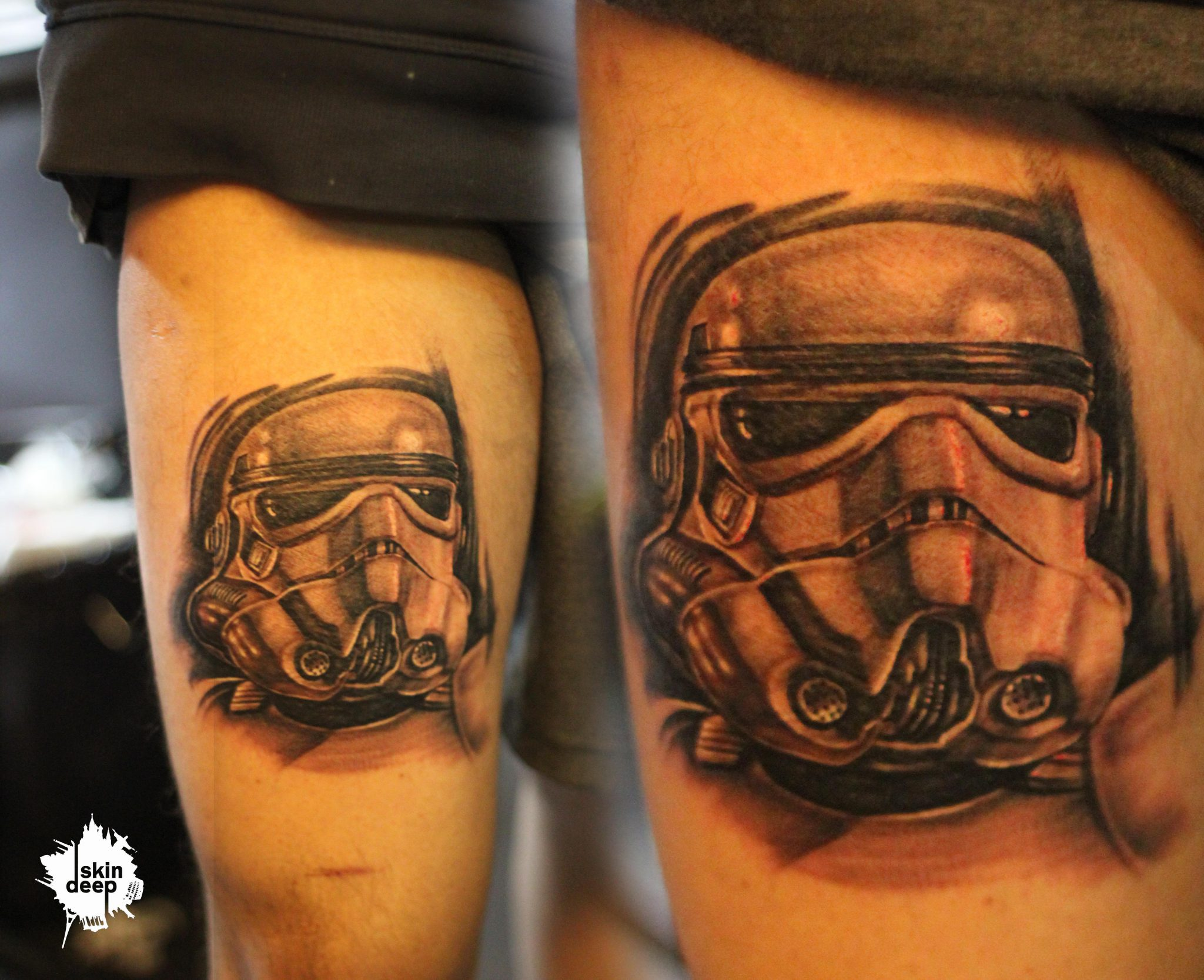 Grey Scale – Star Wars Tattoo