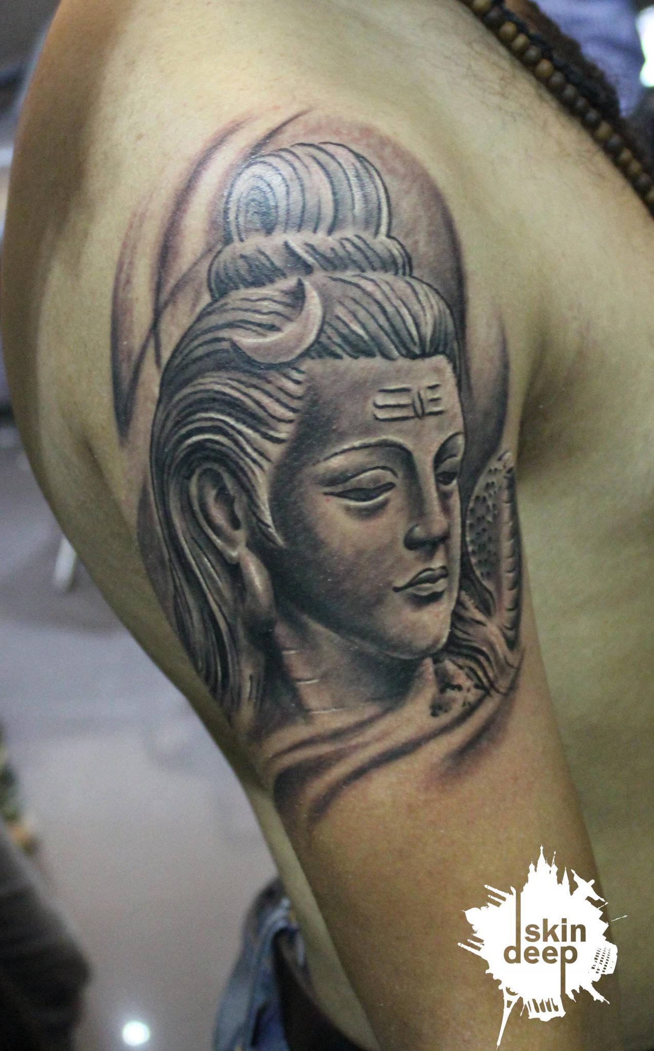Grey Scale – Lord Shiva