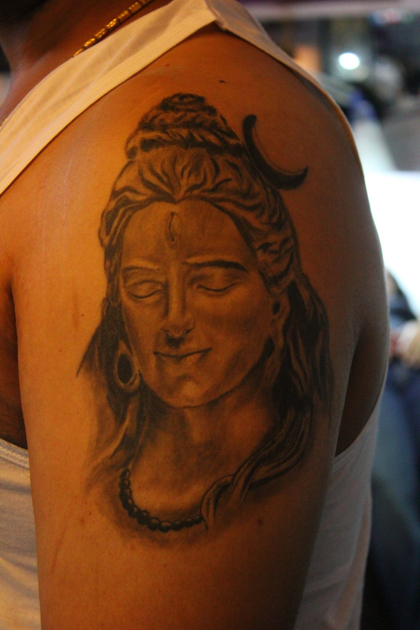 Grey Scale – Shiva Tattoo
